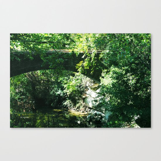 The Bridge To Somewhere Canvas Print
