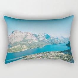 Waterton Lakes National Park, Alberta Rectangular Pillow
