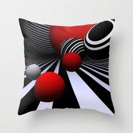 geometric design -510- Throw Pillow
