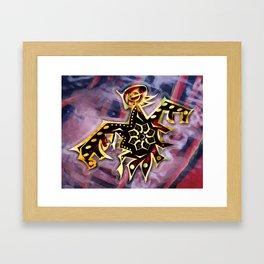 Colibri Framed Art Print