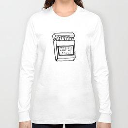 SMOKING ABOUT YOU Long Sleeve T-shirt