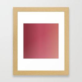 Mauve Sunset Framed Art Print