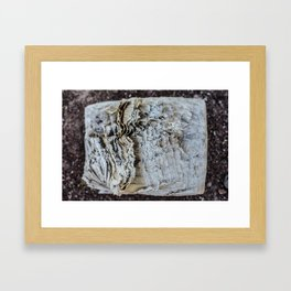 Aged Page Framed Art Print