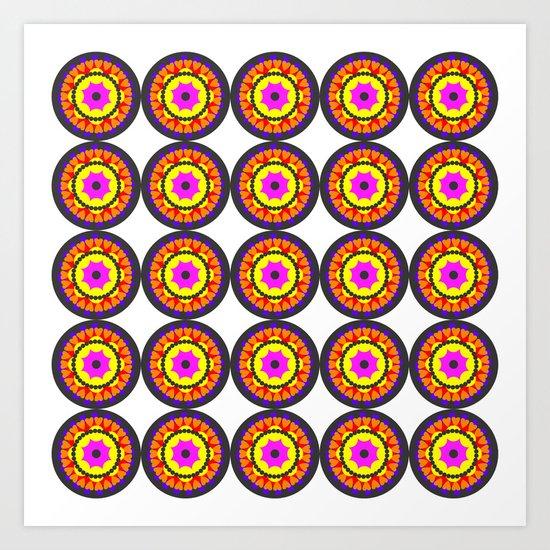 Patt1 Mandala Art Print