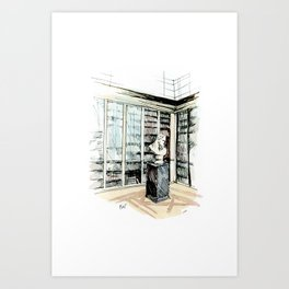 Old King's Library Art Print