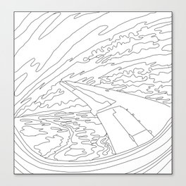 Migrating North Canvas Print