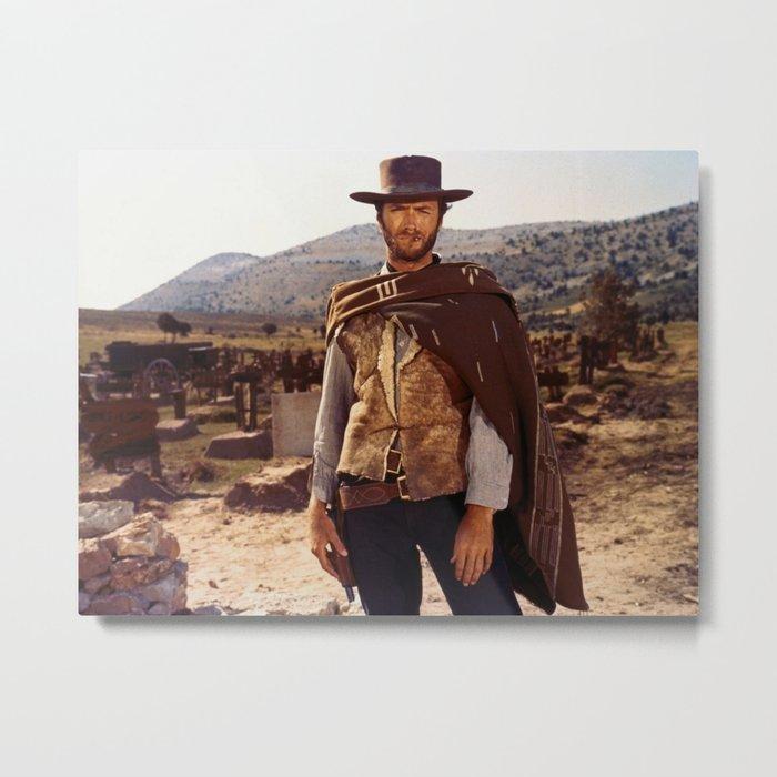 Clint Eastwood Metal Print
