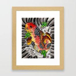 Fall Koi Framed Art Print