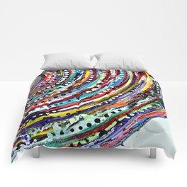 Color Vortex Comforters