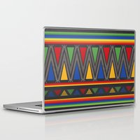 mexican Laptop & iPad Skins featuring Mexican Pattern by rusanovska