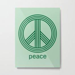 Peace Metal Print