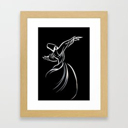 Embracing Humanity With Love Framed Art Print