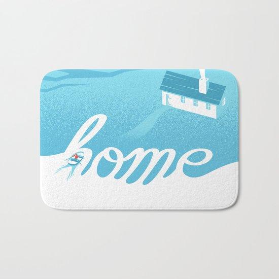 Home is everywhere Bath Mat