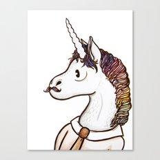 Doctor Unicorn Canvas Print