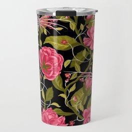 Death of Summer (black and rose) Travel Mug