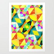 Kaleidab Art Print