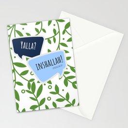 Yalla? Inshallah! Stationery Cards