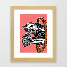 Circus Animals by zombieCraig Framed Art Print