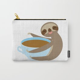 sloth & coffee 2 Carry-All Pouch