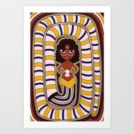 Divine Dames: Julunggul Art Print