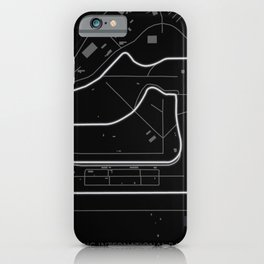 Sebring International Raceway iPhone Case