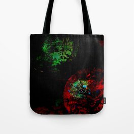 Red Green Entanglement Tote Bag