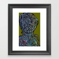 Windower Olive Framed Art Print