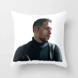 Diego Hargreeves Umbrella Academy Throw Pillow