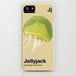 Jj - Jellyjack // Half Jellyfish, Half Jackfruit iPhone Case
