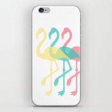 The Three Flamingos iPhone & iPod Skin