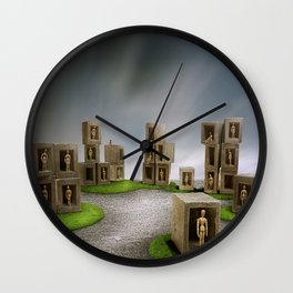 City of Dummies Wall Clock