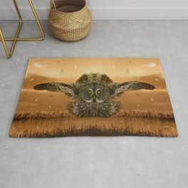 The greatest great gray of them all Rug
