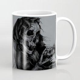 Skeleton Holding Diamond Coffee Mug