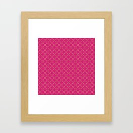 Fashion Scissors Framed Art Print