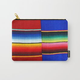 Colorful serape stripes Carry-All Pouch