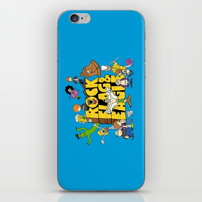 Rock, Flag & Eagle iPhone Skin