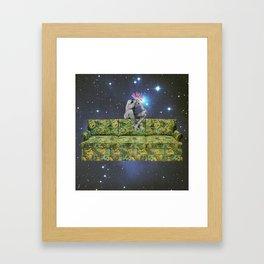 122 - you're still coming, right?  Framed Art Print