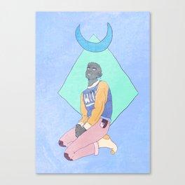 The Hound Canvas Print