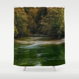 Wood River, Arcadia - West Greenwich, Rhode Island Shower Curtain