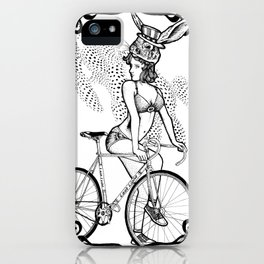 """Bicycle Race""  iPhone Case"