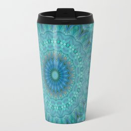 Mandala luminous Opal Travel Mug