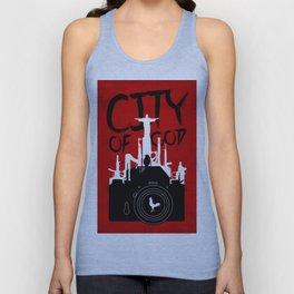 City of God - Minimal Movie Fanart Alternative Unisex Tank Top