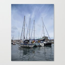 Weymouth Harbour Canvas Print