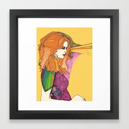 Embelishment Framed Art Print