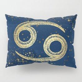 Cancer Zodiac Sign Pillow Sham