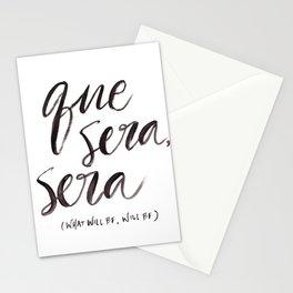 Que Sera, Sera Stationery Cards