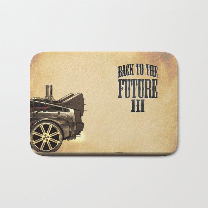Back to the future III Bath Mat