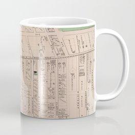 Vintage Map of Flatbush Brooklyn NY (1873) Coffee Mug