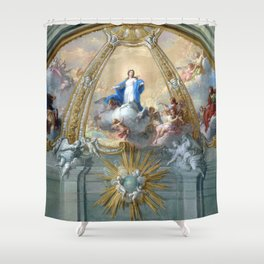 Placido Costanzi Immaculate Conception Shower Curtain