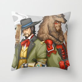 Outfit Swap Throw Pillow